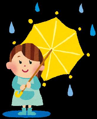 赤塚 下赤塚駅近くの歯医者小田歯科医院 雨 梅雨 傘