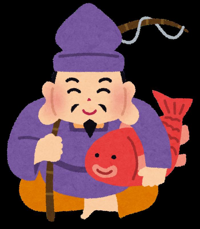 赤塚、下赤塚駅近くの歯医者小田歯科医院、恵比寿様、